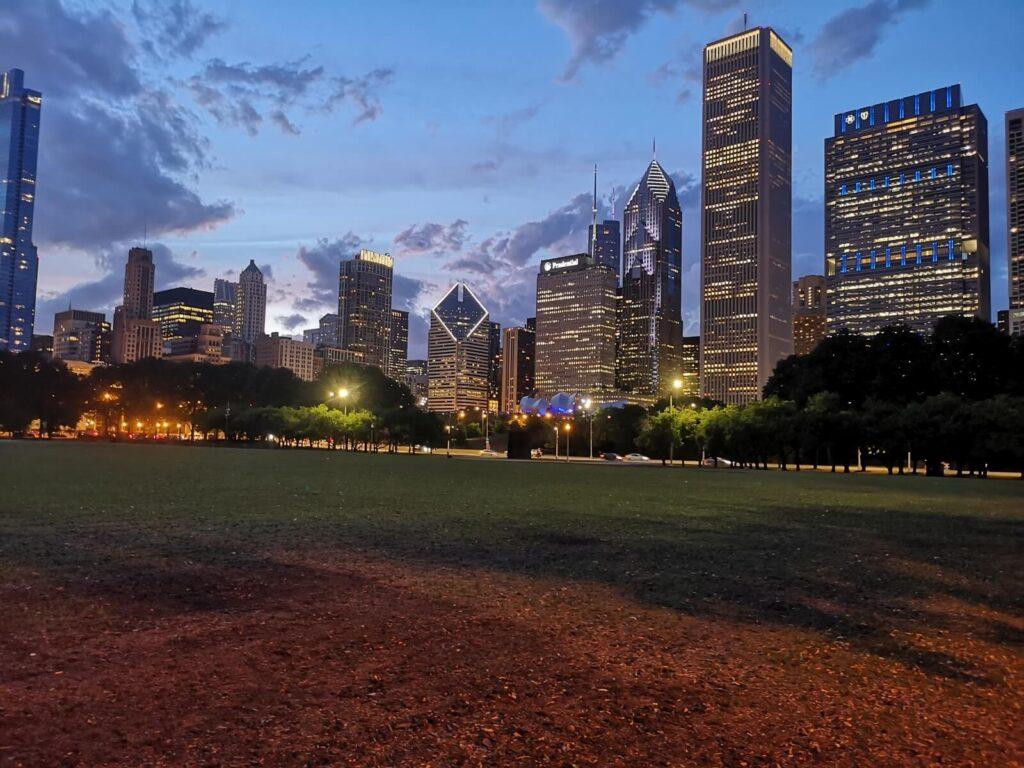 Chicago des Nächtens