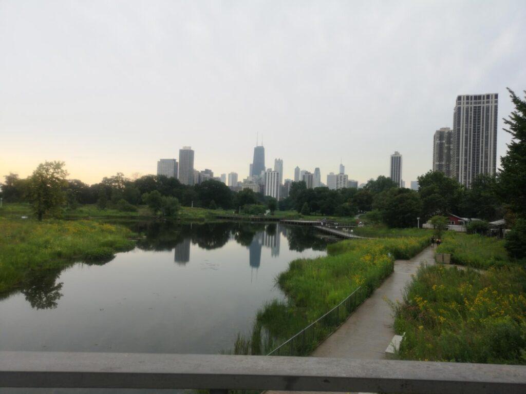 Ein letzter Blick auf die Skyline