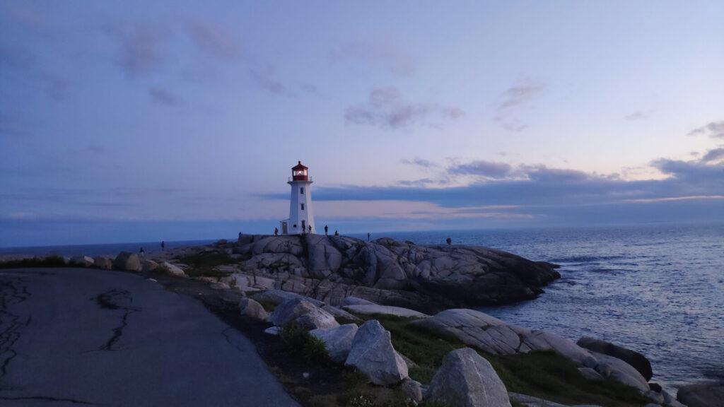 Leuchtturm bei Peggy's Cove