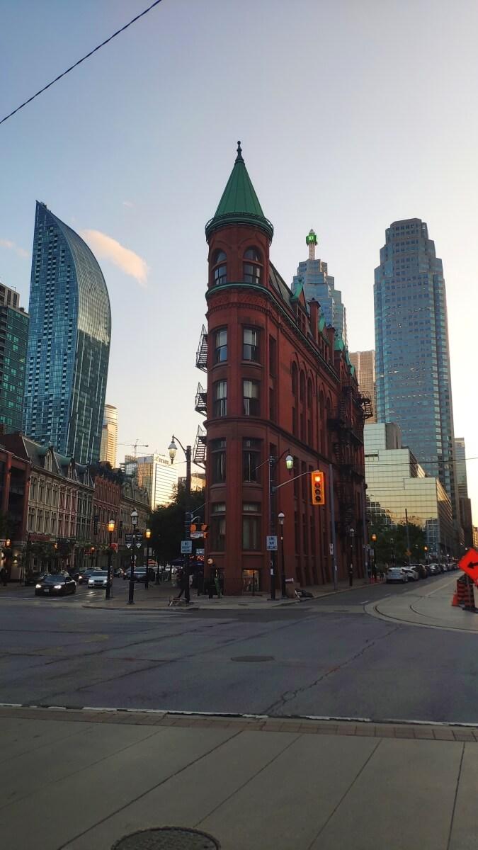 Schmales Haus in Toronto