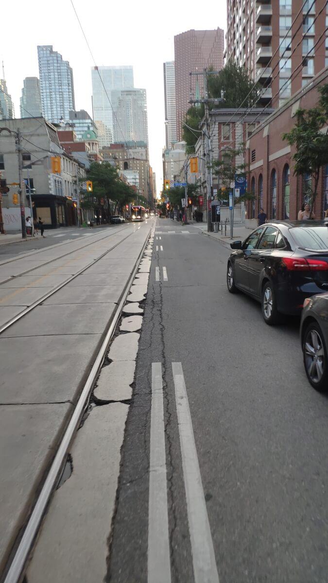 Straße in Toronto