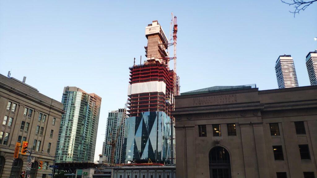 Hier wird in Toronto gebaut