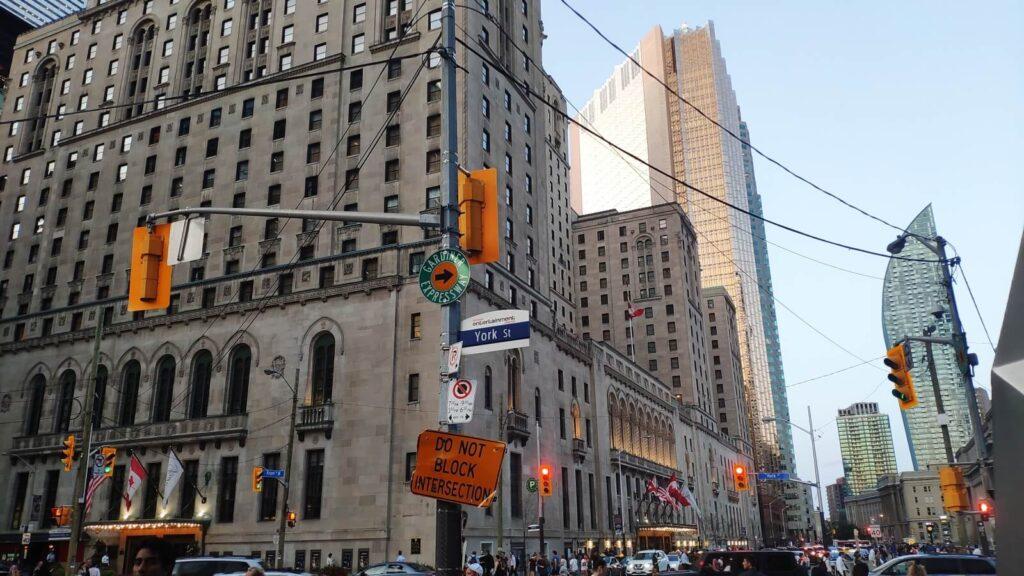 Hochhäuser in Toronto