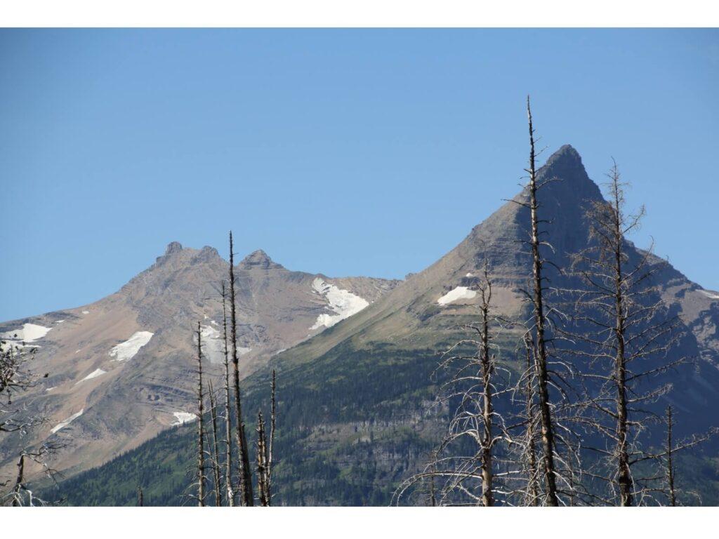 Ein Berg im Glacier Park :-)