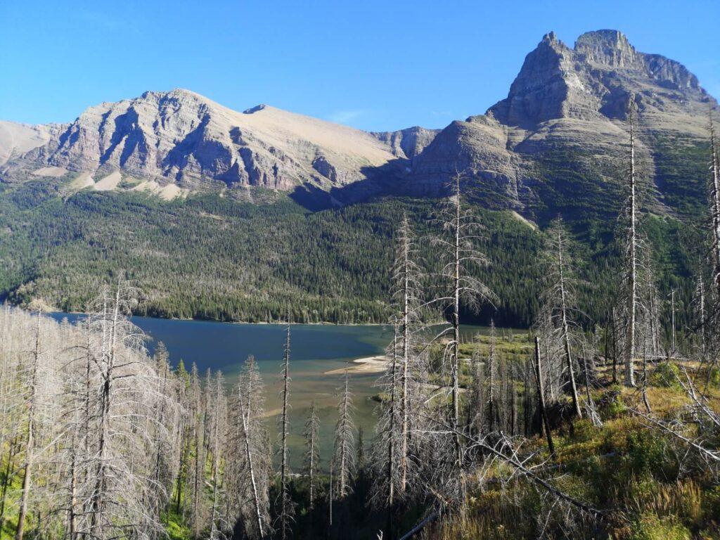 Ein See im Glacier Park