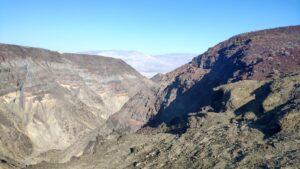 auf dem Weg zum Death Valley