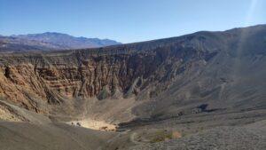 Krater im Death Valley