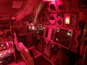 U-Boot rot Ruder
