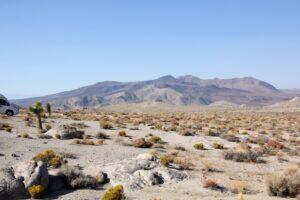 Wohnmobil in der Wüste