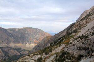 Yosemite verschiedene Bergformationen