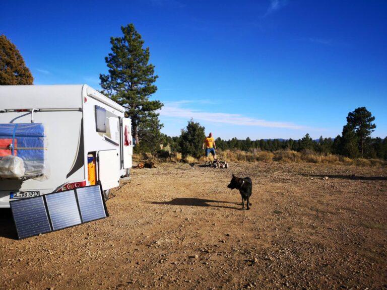 Campsite in der Nähe vom Bryce Canyon