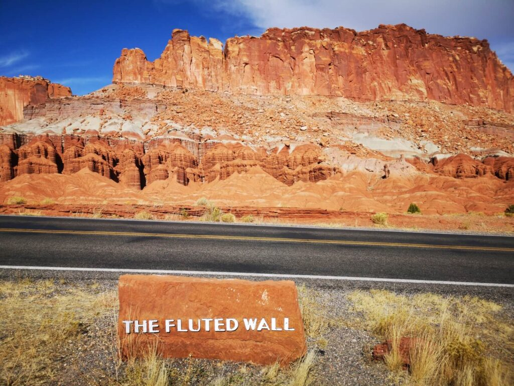 Capitol Reef Fluted Wall