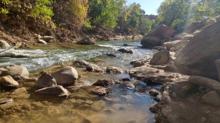 Fluß in Zion