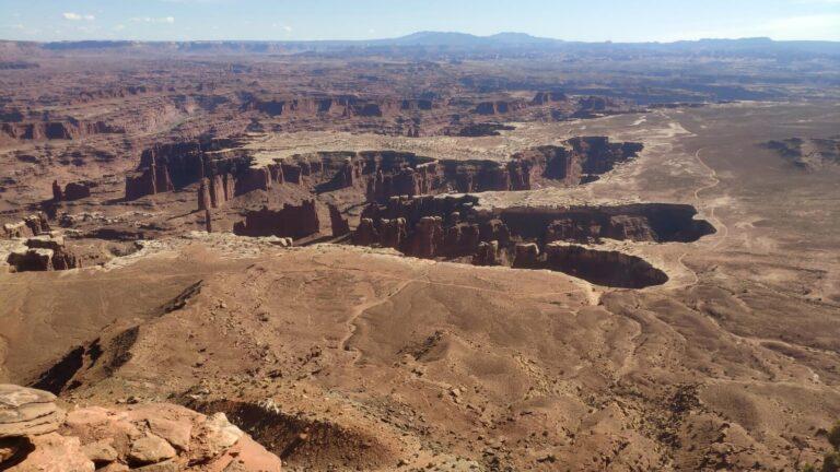 Abdruck einer Dinosaurierpfote Canyonlands