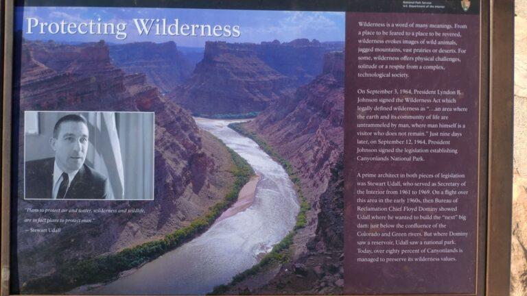 Canyonlands Schutz und Entstehung