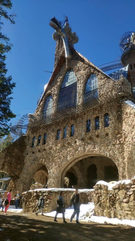 Bishop Castle von vorne