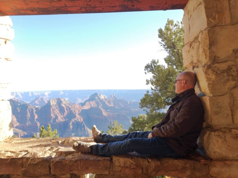Maik am North Rim