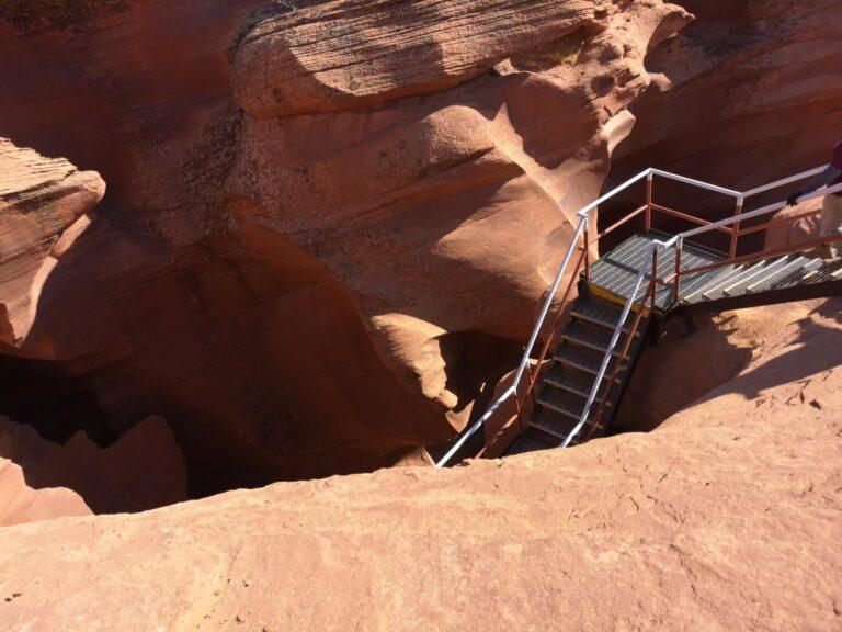 Eingang zum Lower Antelope Canyon