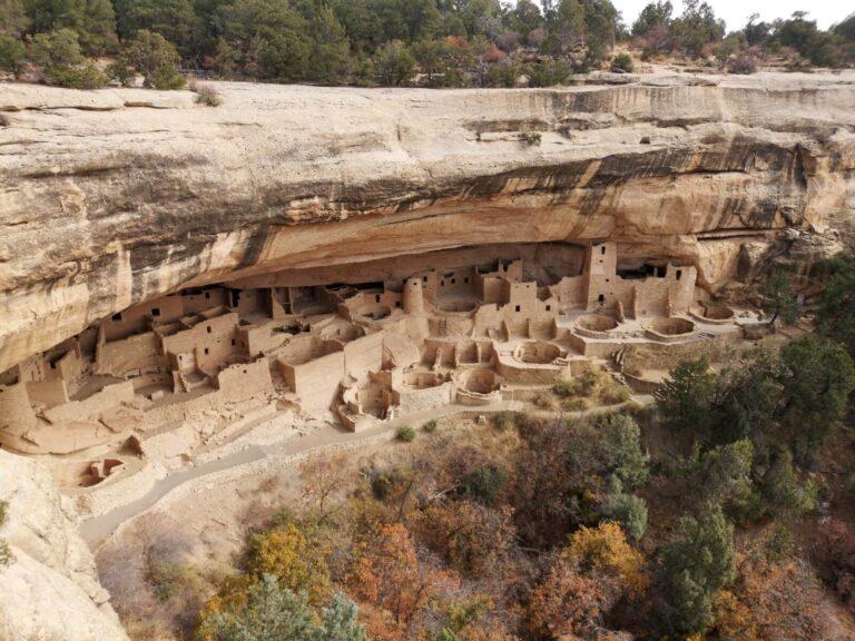 Mesa Verde Ausgrabung einer Stadt