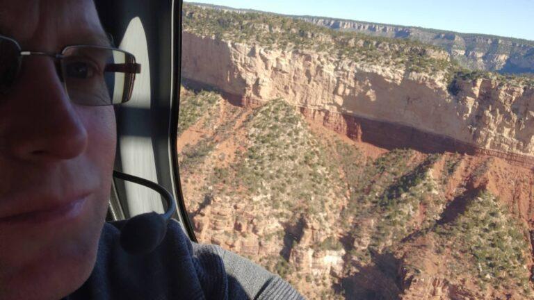 Maik Helikopterselfie
