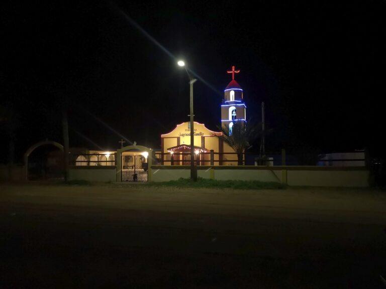 An einer Kirche