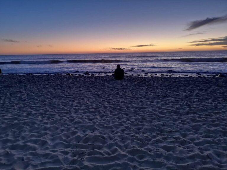 Dicker Hintern am Strand