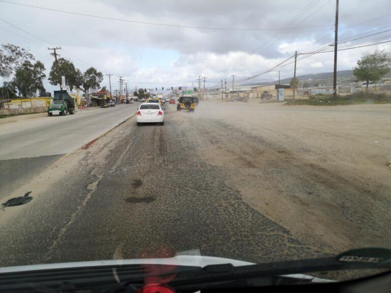 Straße Ensenada