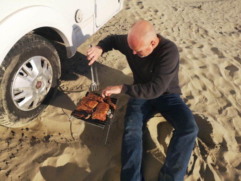 Grillen am Pismo Beach