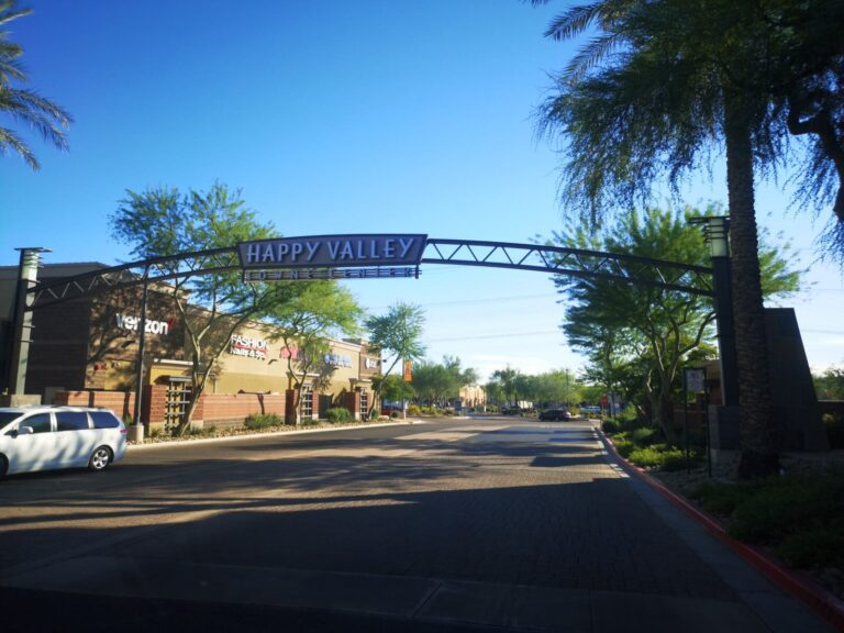 Happy Valley in Phoenix
