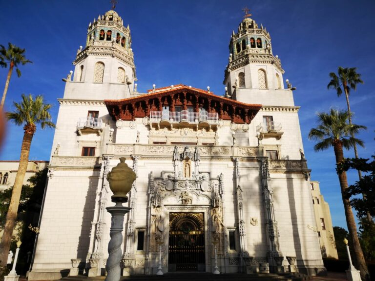 Hearst Castle Eingang