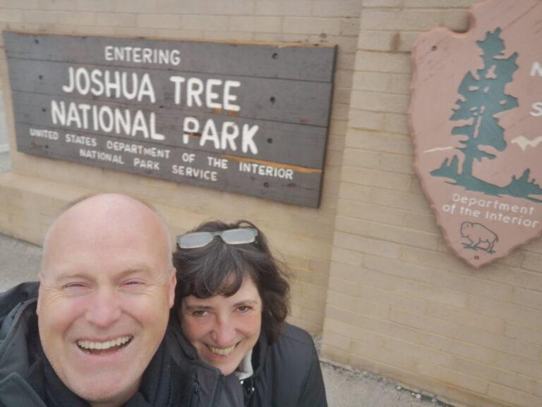 Joshua Tree Schild