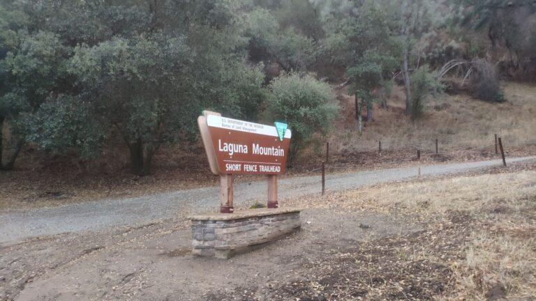 Laguna Mountain Eingang