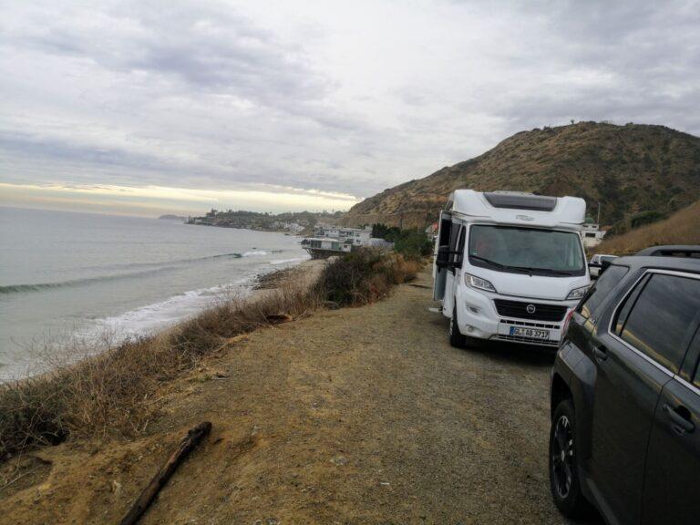 Malibu an der Straße