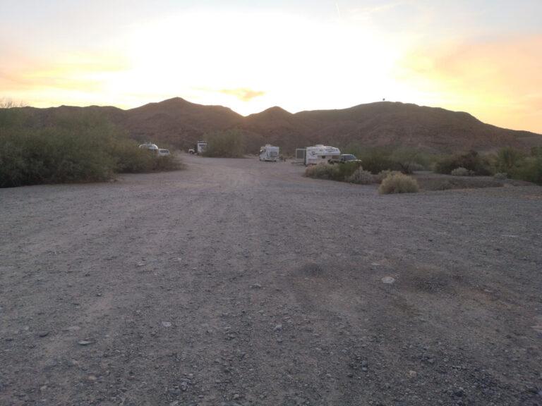 Mittry Lake Camping