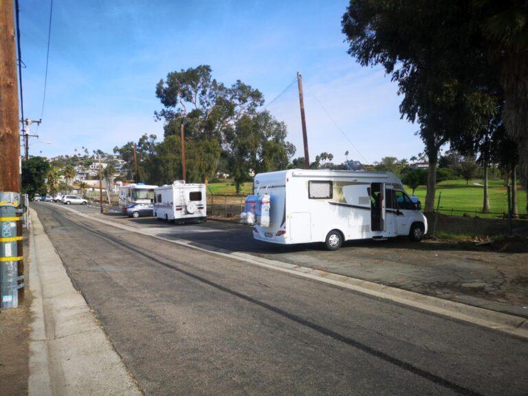 San Clemente Parkplatz