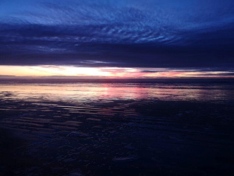mehr Sonnenuntergang Pismo Beach