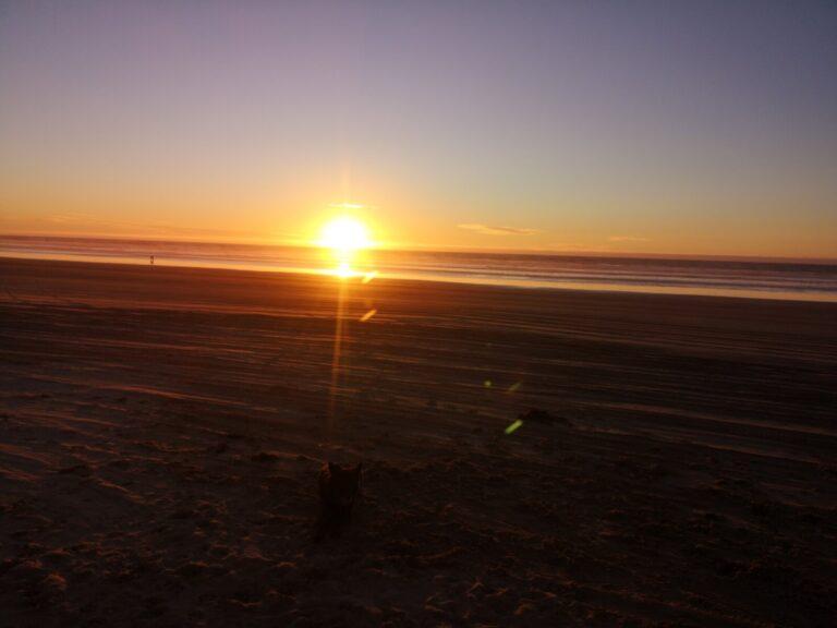Sonnenuntergang Pismo Beach