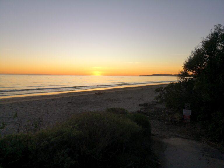Sonnenuntergang Summerland