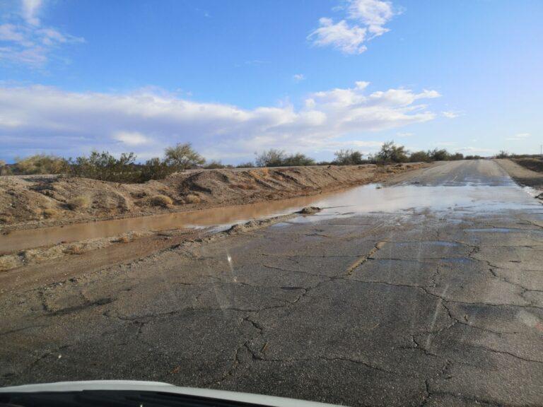 Überschwemmung Ogilby