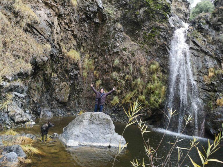 Wanderweg Wasserfall 3