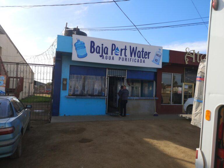 Wasser tanken