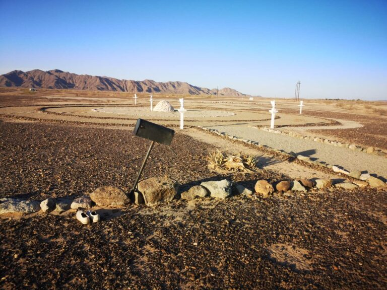 Heilige Stätte in der Wüste