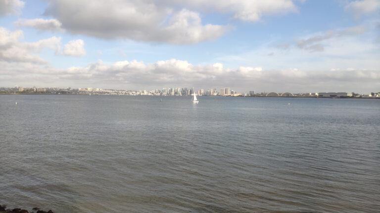 Blick auf San Diego