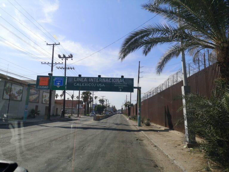 Grenze Calexico Mexicali