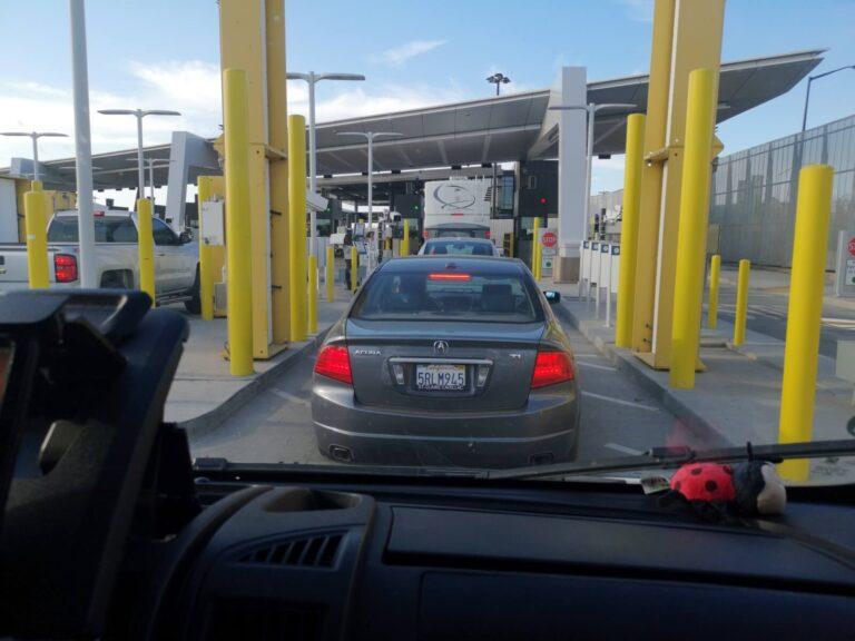 Grenzübergang Calexico Mexicali