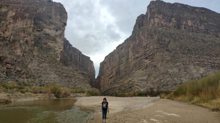 Iris im Canyon