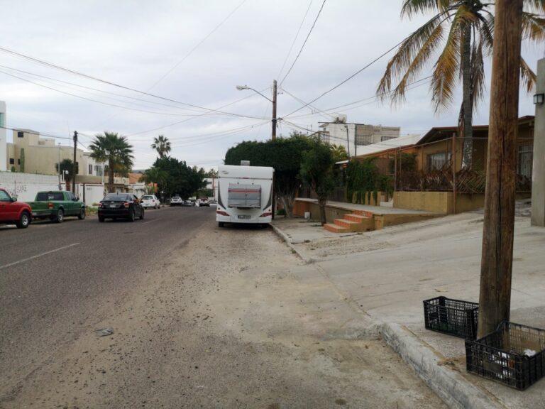 La Paz Seitenstraße