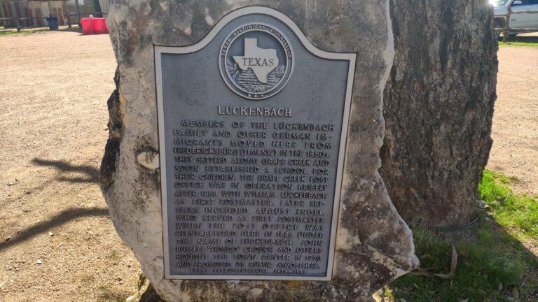 Luckenbach Info