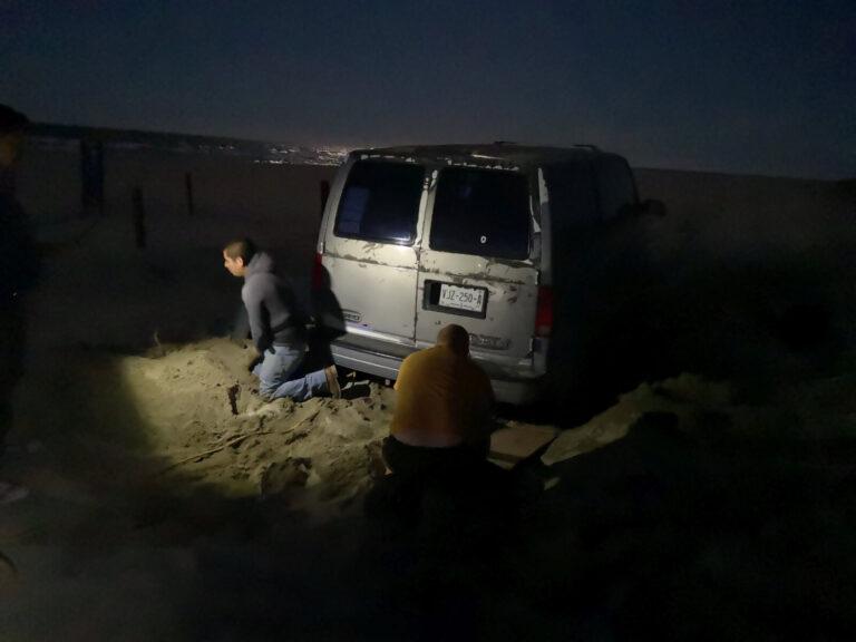 Mexikaner festgefahren