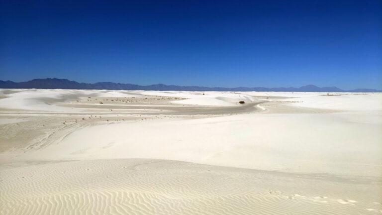 Sand so weit das Auge reicht
